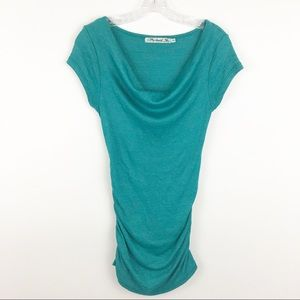 Michael Stars ruched tunic